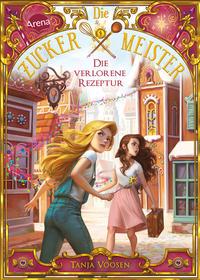 """Das Bild zeigt das Cover des Buchs """"Die verlorene Rezeptur"""