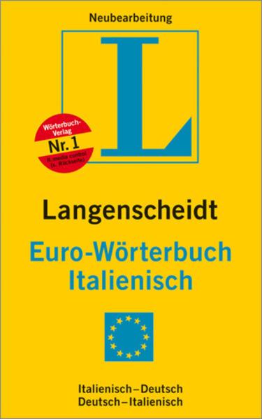 Langenscheidt Eurowörterbuch Italienisch
