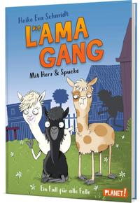 """Das Bild zeigt das Cover des Buchs """"Lama-Gang"""""""