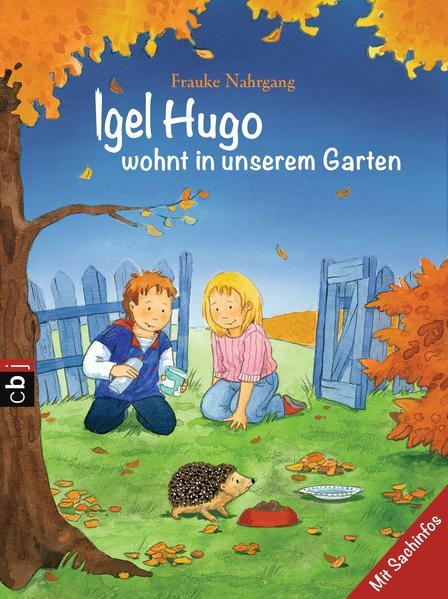 Igel Hugo wohnt in unserem Garten