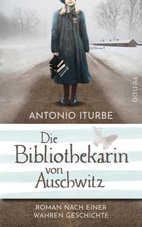 """Das Bild zeigt das Cover des Buchs """"Die Bibliothekarin von Auschwitz"""""""